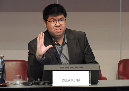 Mr. David Dela Pena, Undergraduate Student, Webster University Geneva